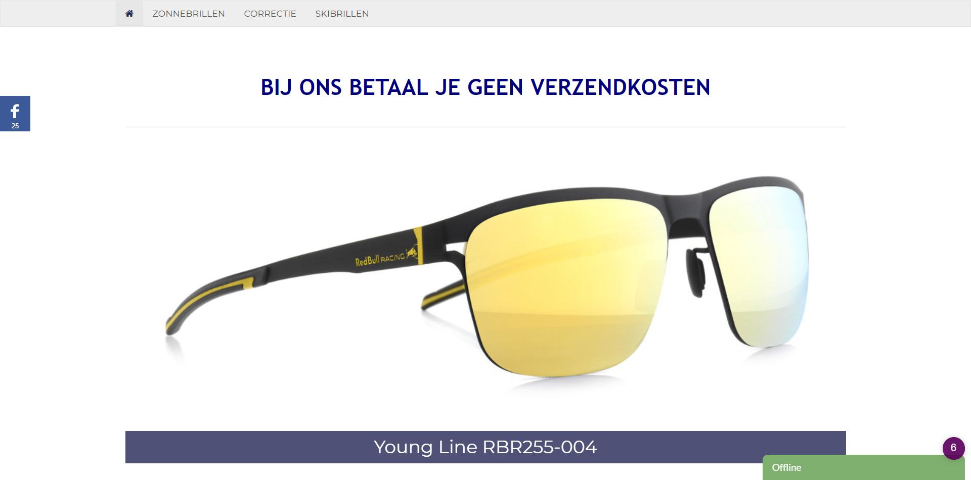 Screenshot Red Bull brillenwinkel